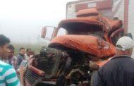 Cambeense morre esmagado em engavetamento na Serra do Mutum, BR-116