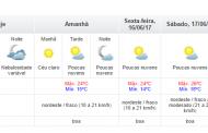 Feriado será com sol e temperaturas amenas em Cambé