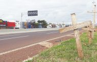Após nove meses passarela na PR 445 no Jardim Novo Bandeirantes em Cambé não sai do papel
