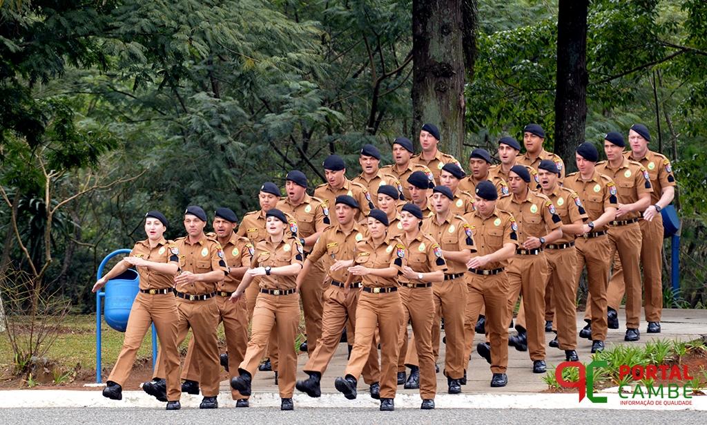 Polícia Militar do Paraná forma novos soldados para atuação em todo Estado