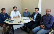 Reunião entre a Prefeitura, ACIC e Fomento Paraná discute a revitalização do centro de Cambé