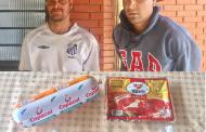 Dupla é presa suspeita de tentar furtar alimentos em supermercado no Jardim Ana Rosa em Cambé