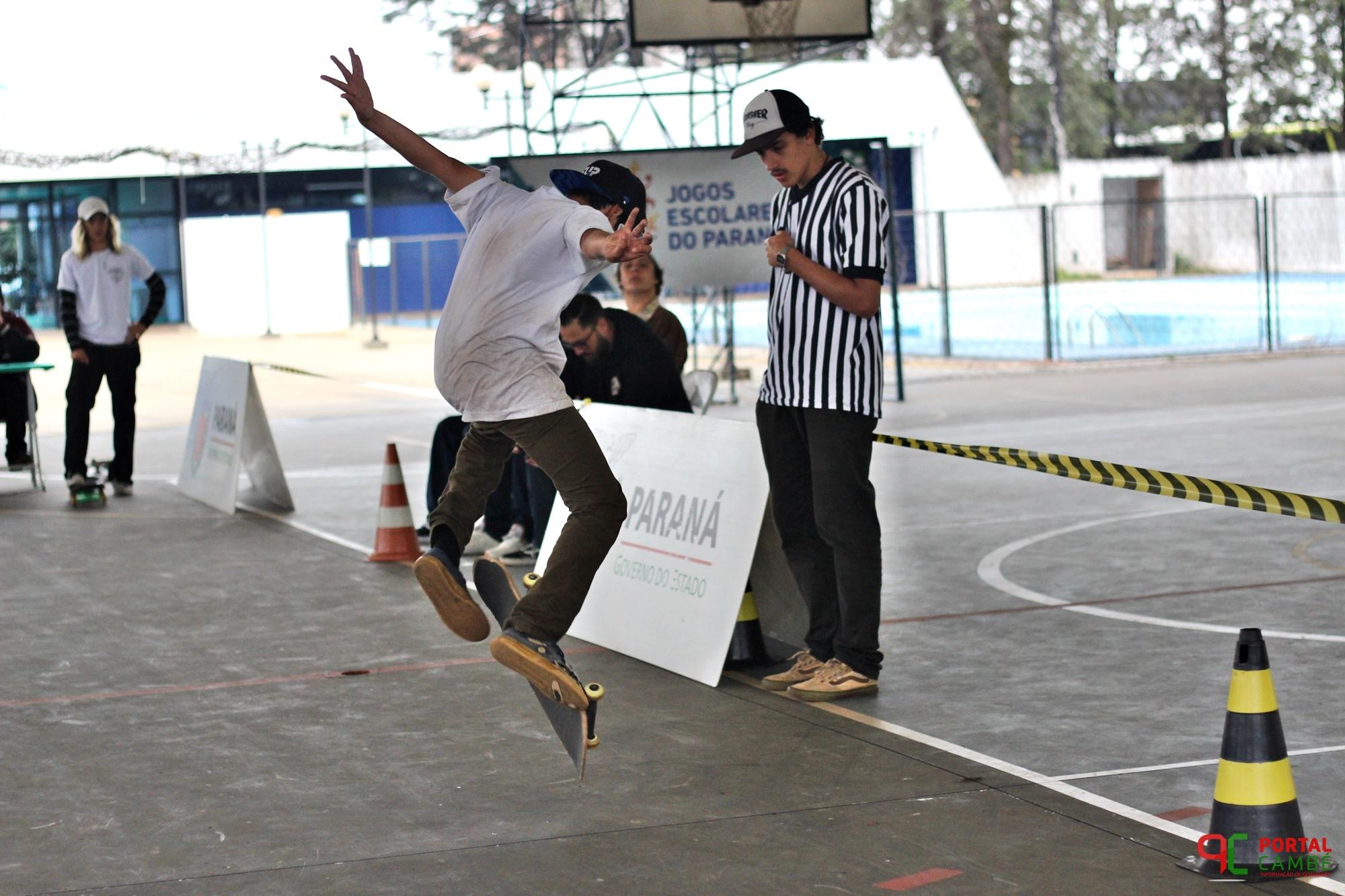 Provas de skate agitam a sexta-feira no JEPs