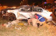 Após roubar veículo de mulher grávida suspeito morre ao capotar veículo na PR 445 em Cambé