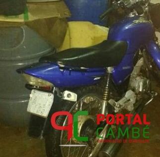 Policiais Militares apreendem adolescente, entorpecente e motocicleta furtada em Cambé