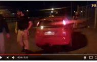Após sete quilômetro de fuga, PRF apreende 96 quilos de maconha e recupera carro roubado
