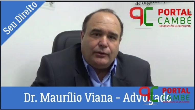 Seu Direito: Direito ao voto: Maurílio Viana – Advogado