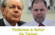 Saiba como os deputados do Paraná votaram a denúncia contra Temer
