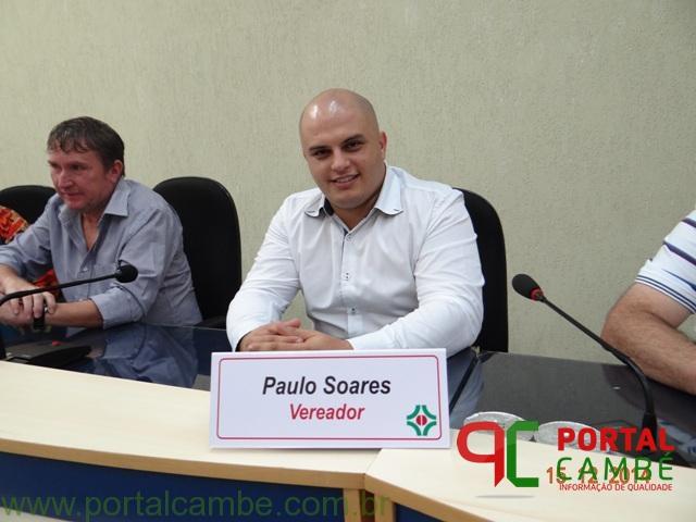 MP recomenda que vereador de Cambé renuncie a cargo de presidente da Câmara; Paulo Soares considera decisão equivocada
