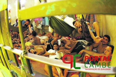 Superlotação causa surto de tuberculose na cadeia de Cambé