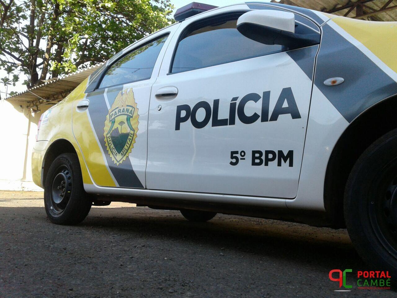 Homem com mandado de prisão é preso no Conj. Ulysses Guimarães em Cambé