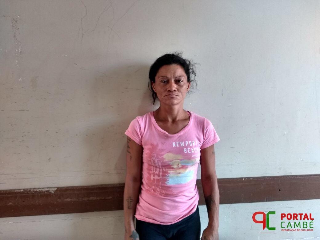 Mulher condenada por furto é presa na Vila Mesquita em Cambé