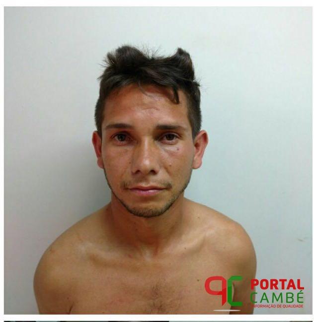 Após denuncia via 181 Polícia Civil de Cambé apreende drogas e suspeito é preso no Jardim São Paulo