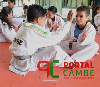 Secretaria de Esportes de Cambé realiza Torneio Paranaense de Judô