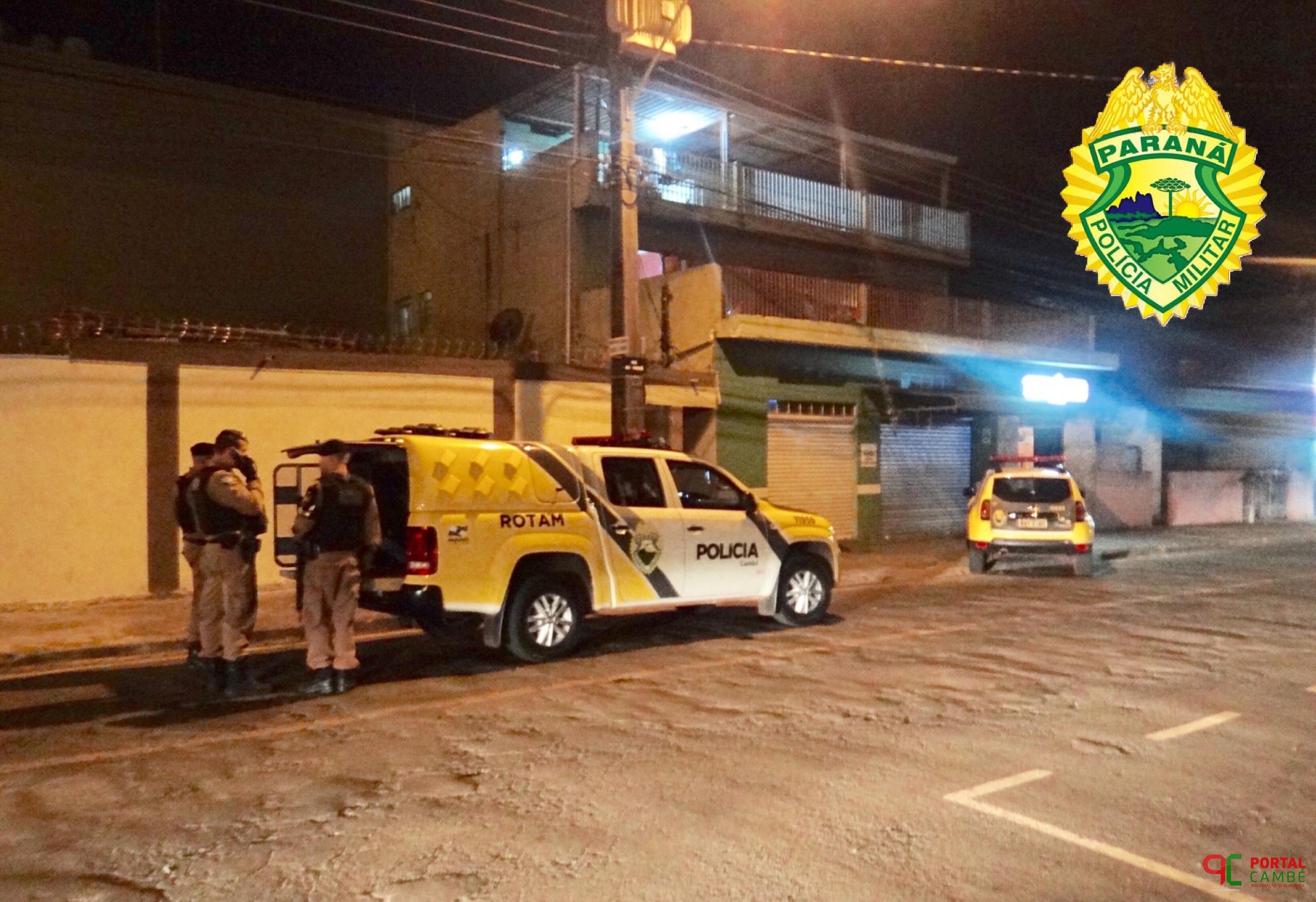 Dois são presos com mandados de prisão no Jardim Santo Amaro em Cambé