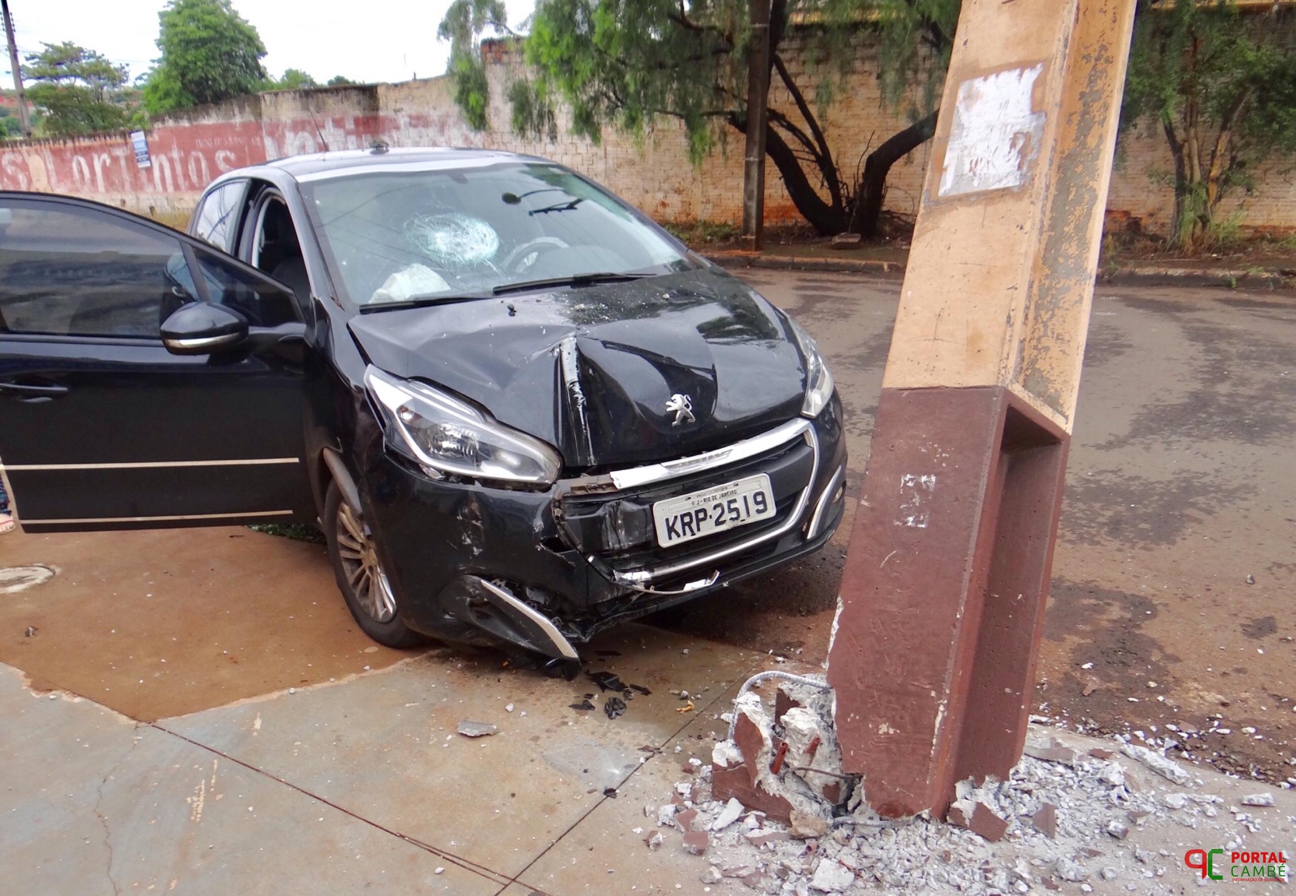 Mulher morre após acidente de carro na BR-369 em Cambé