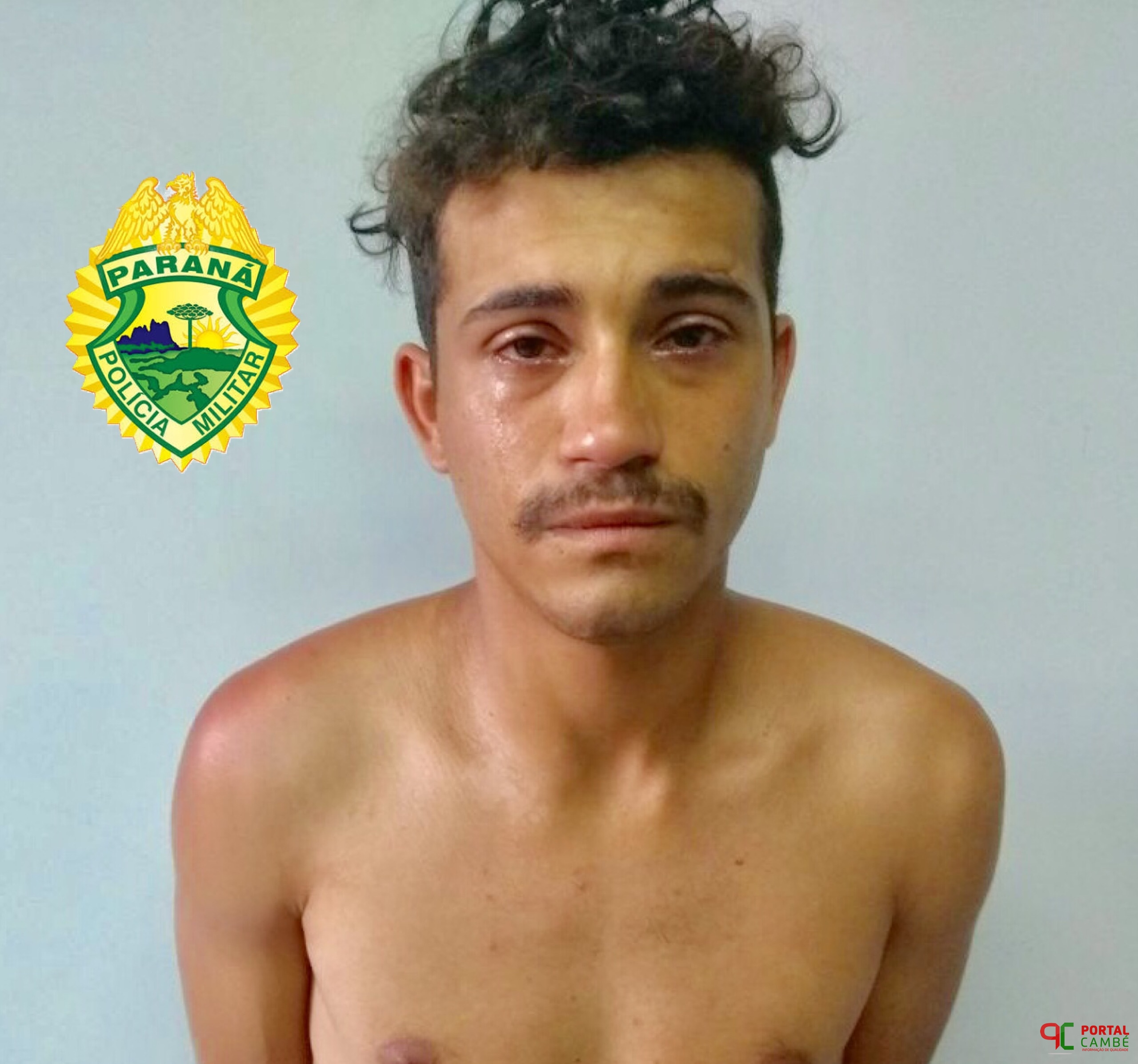 Condenado por tráfico de drogas é preso no Jardim Ana Rosa em Cambé