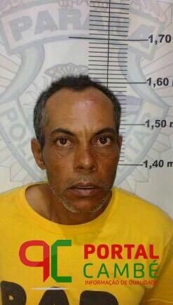 Homem condenado a 8 anos de prisão pelo crime de estupro é preso na Estrada da Prata em Cambé