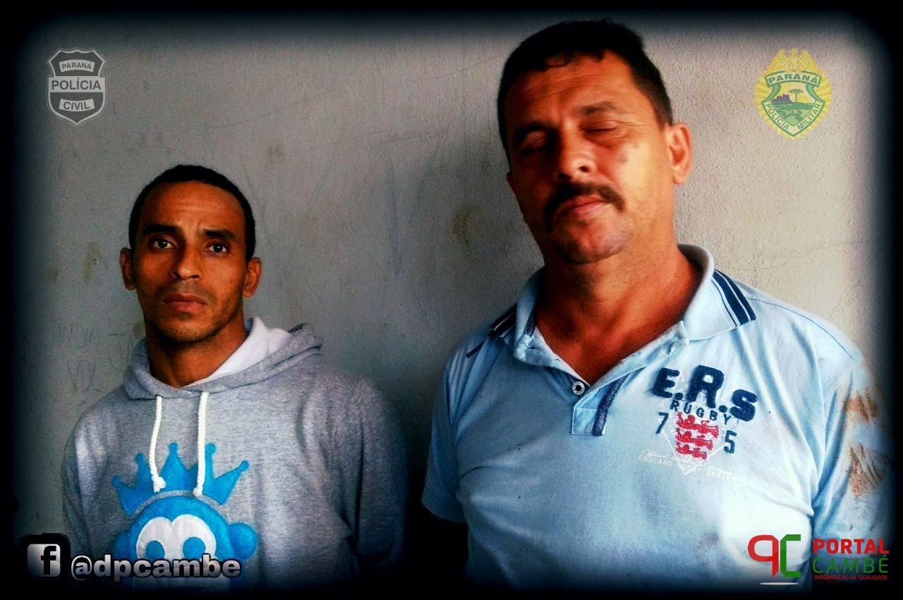 Ação conjunta entre a Polícia Civil e o Serviço Reservado da Polícia Militar recapturam dois foragidos da Justiça