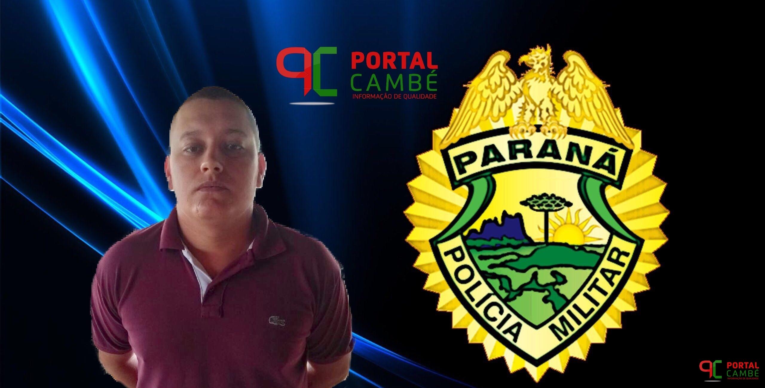 Jovem é preso com entorpecentes no Conjunto Cristal em Cambé