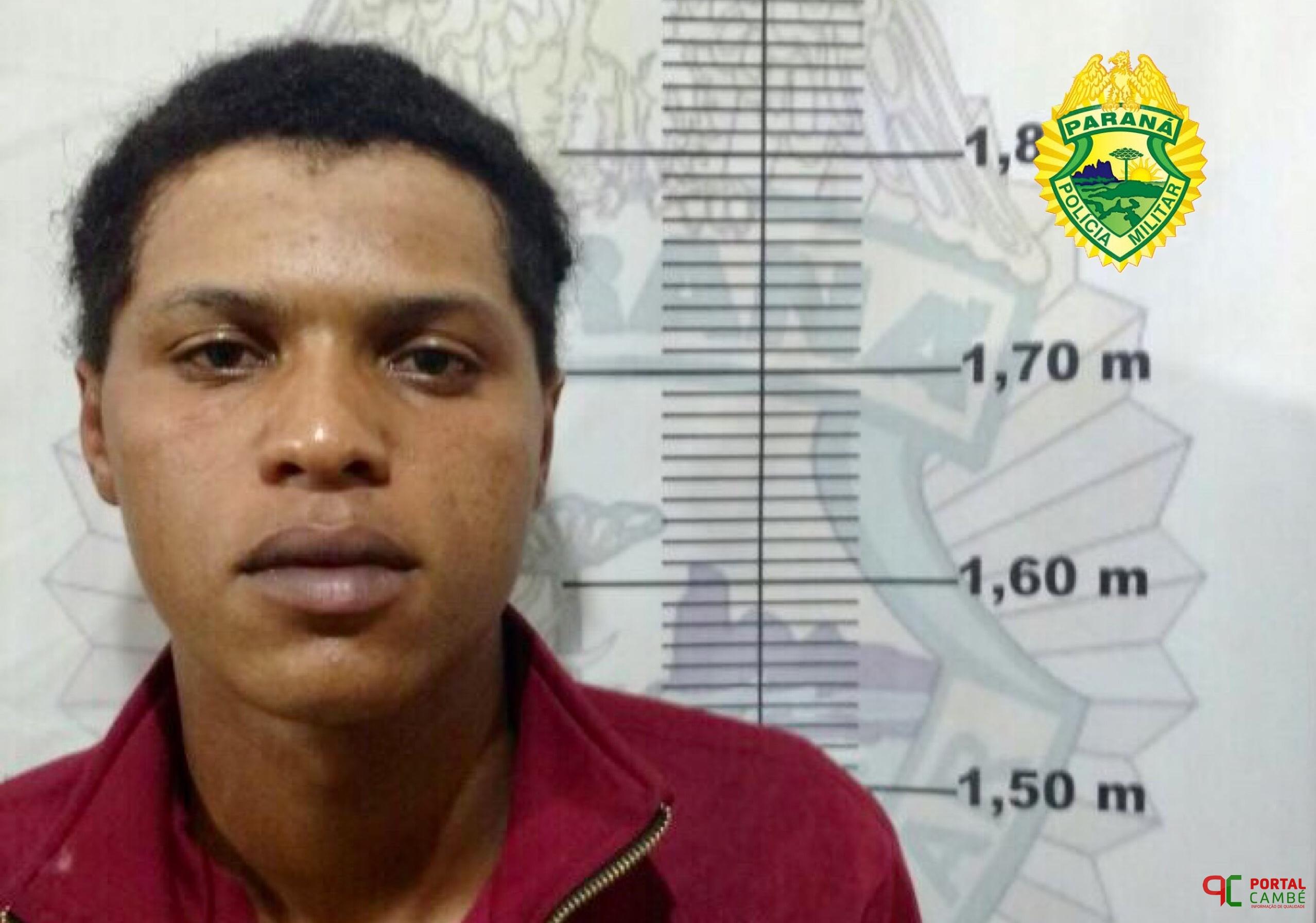 PM cumpre mandado de prisão preventiva no Jardim Ana Rosa em Cambé