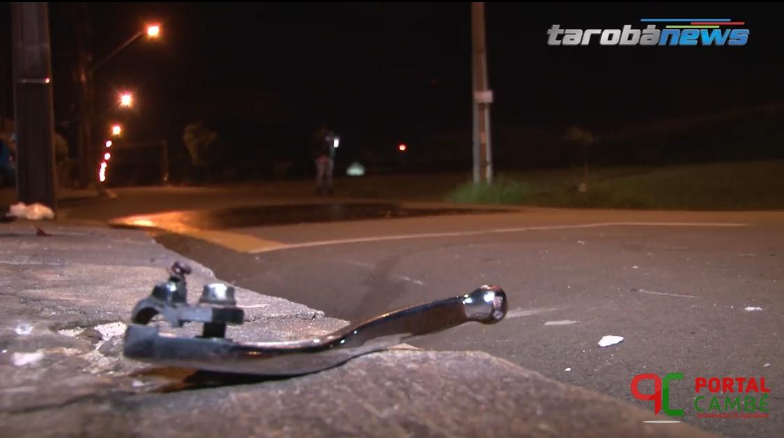 Homem morre em acidente de moto em Cambé