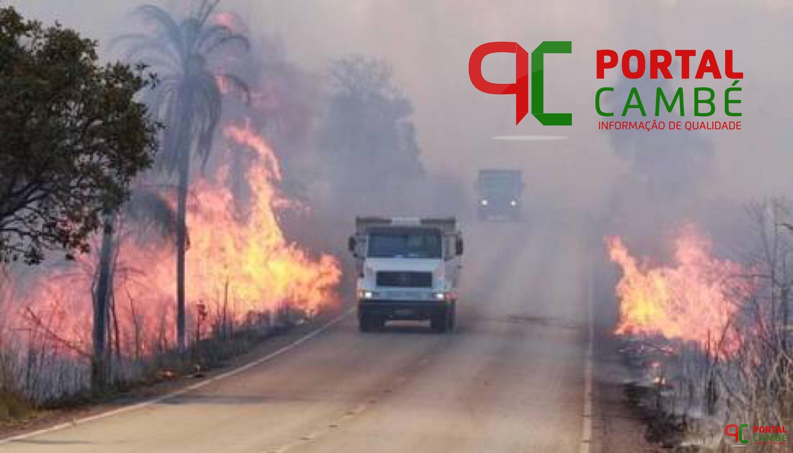 QUEIMADAS  – Diminua os riscos de acidentes