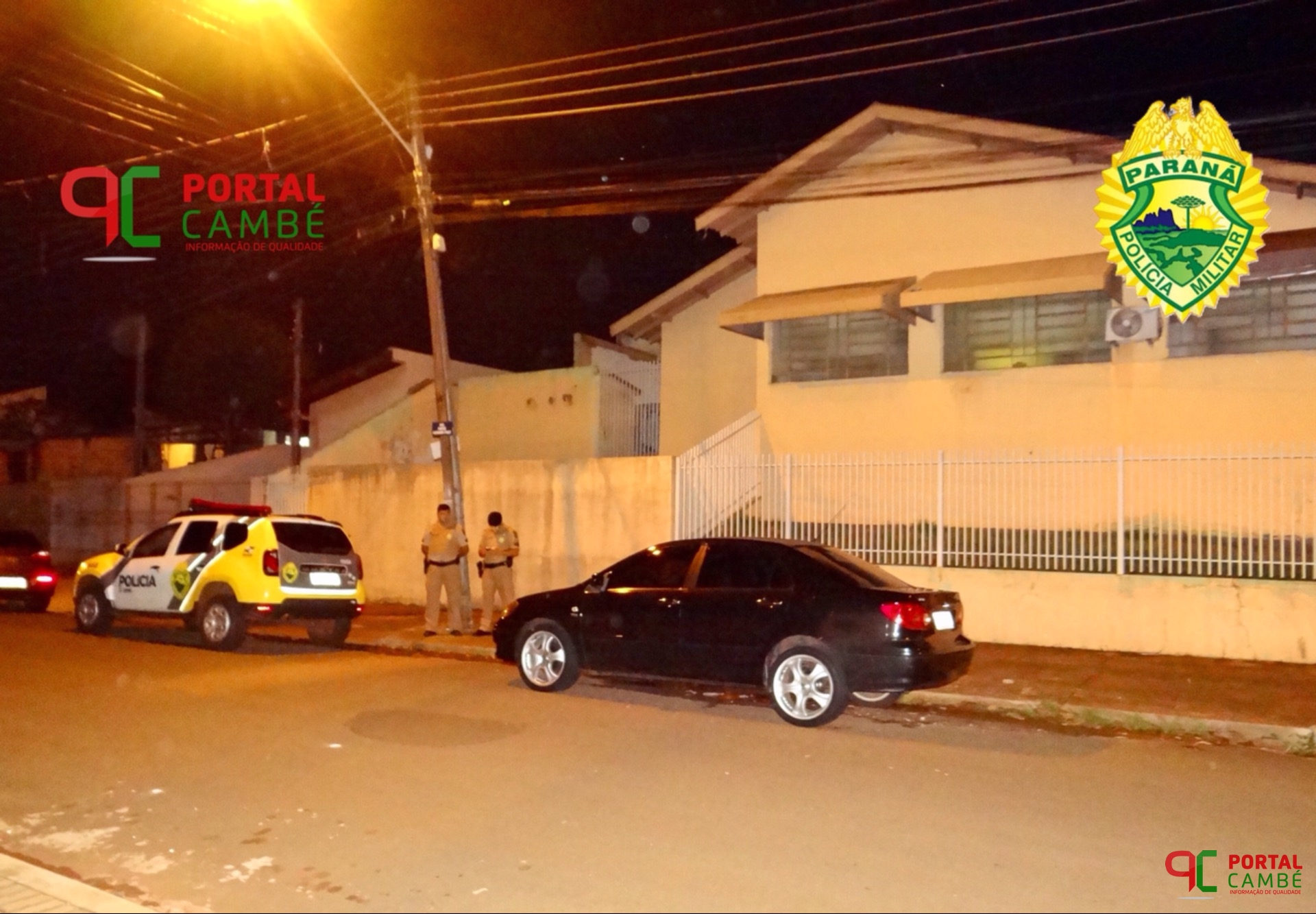 PM localiza no Jardim Silvino carro roubado de vítima de latrocínio