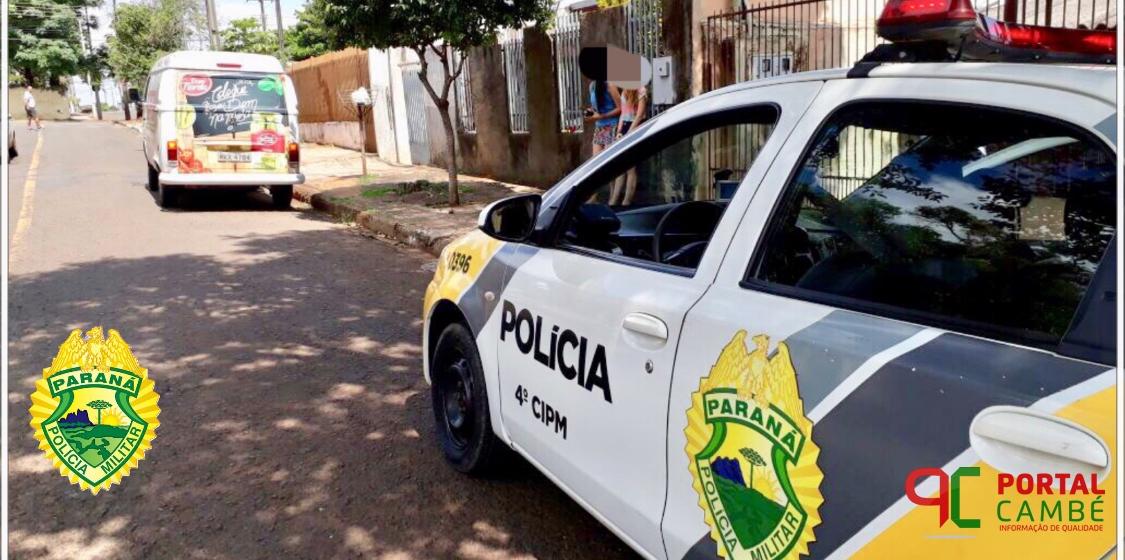 Kombi roubada no Jardim Novo Bandeirantes é encontrada abandonada em Londrina