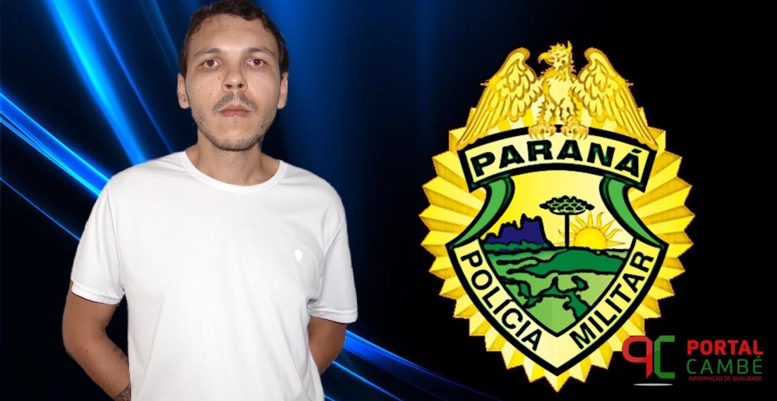 Rapaz do Jardim Santo Amaro em Cambé critica a PM em rede social e é detido para prestar esclarecimentos