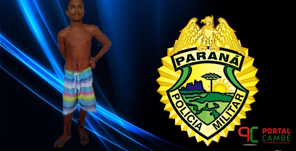 Acusado de tráfico de drogas é preso no Jardim Campos Verdes