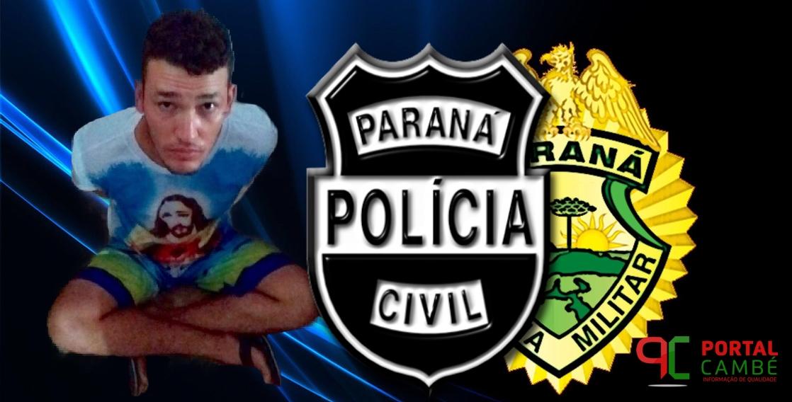 Acusado de vários crimes em Cambé e Rolândia é preso na cidade de Cascavel
