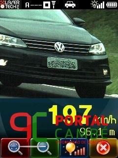 Radar portátil da PRF flagra carro a 197 km/h em Cascavel