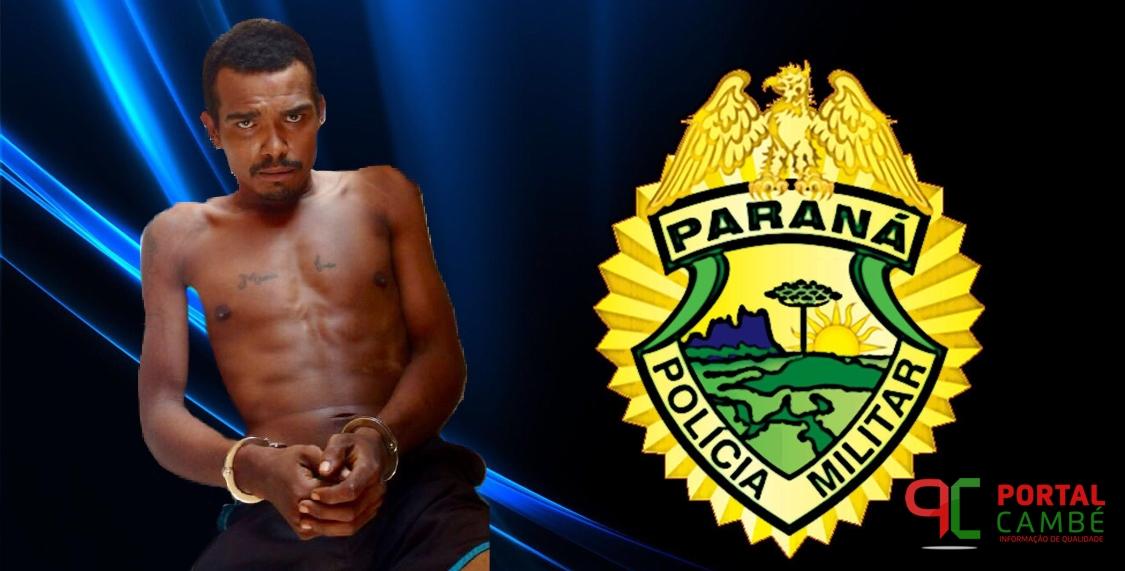 Foragido da cadeia de Cambé é recapturado no Jardim Novo Bandeirantes
