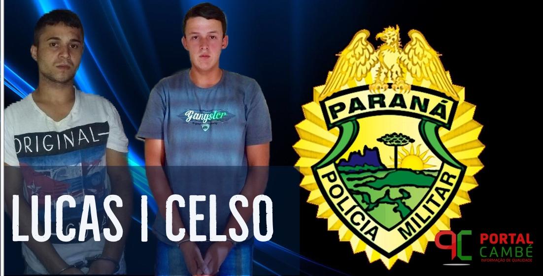 Polícia Militar de Cambé prende rapaz por receptação em Londrina