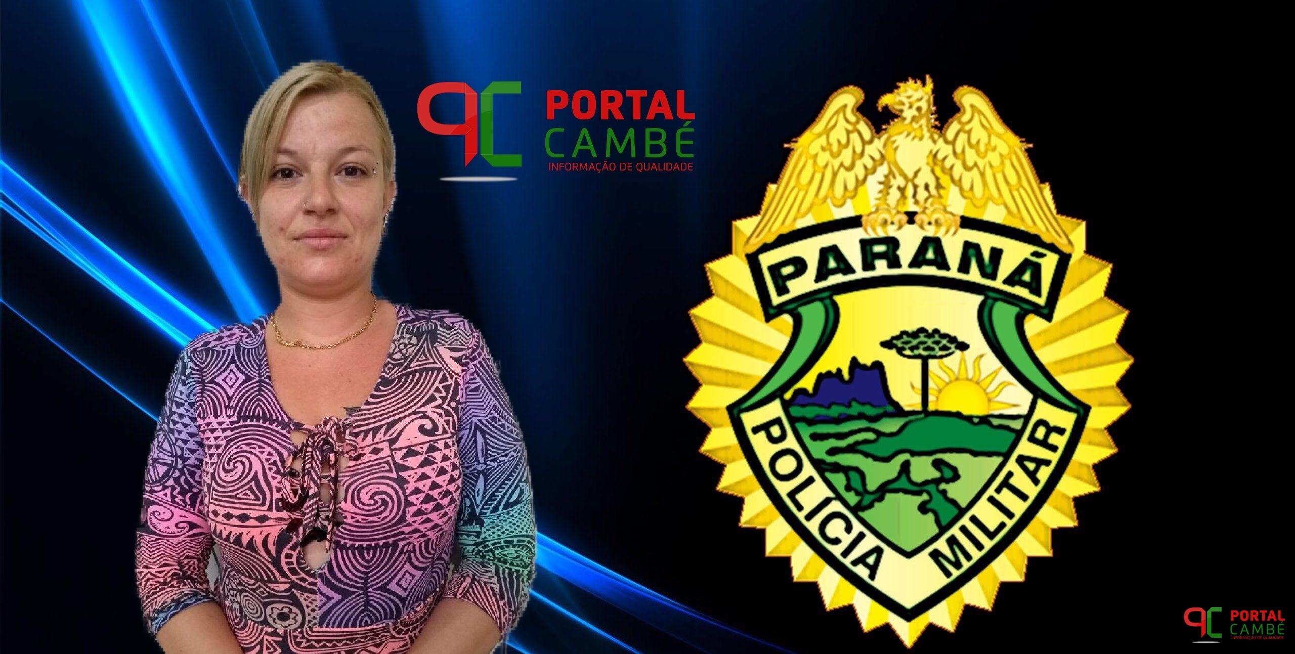 Suspeita de tentativa de homicídio é presa no Jardim Novo Bandeirantes em Cambé
