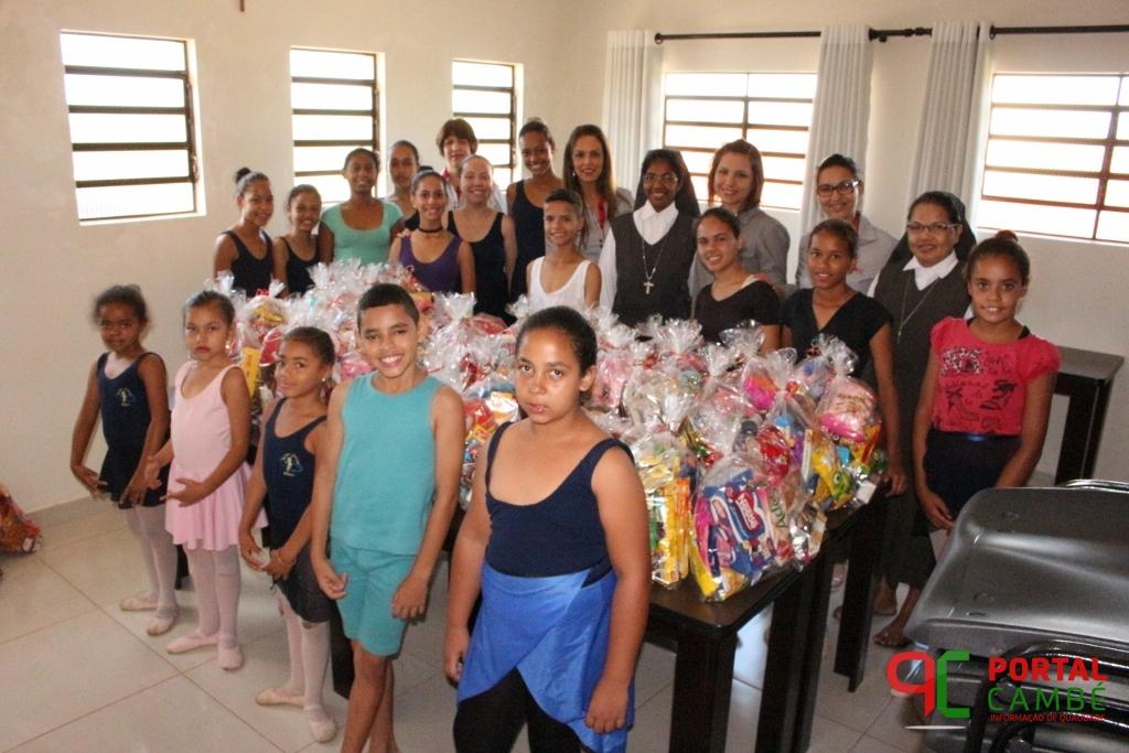 Núcleo das Mulheres Empreendedoras de Cambé faz a alegria de mais de 200 crianças