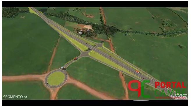 Vídeo mostra Contorno Norte de Londrina e Cambé concluído