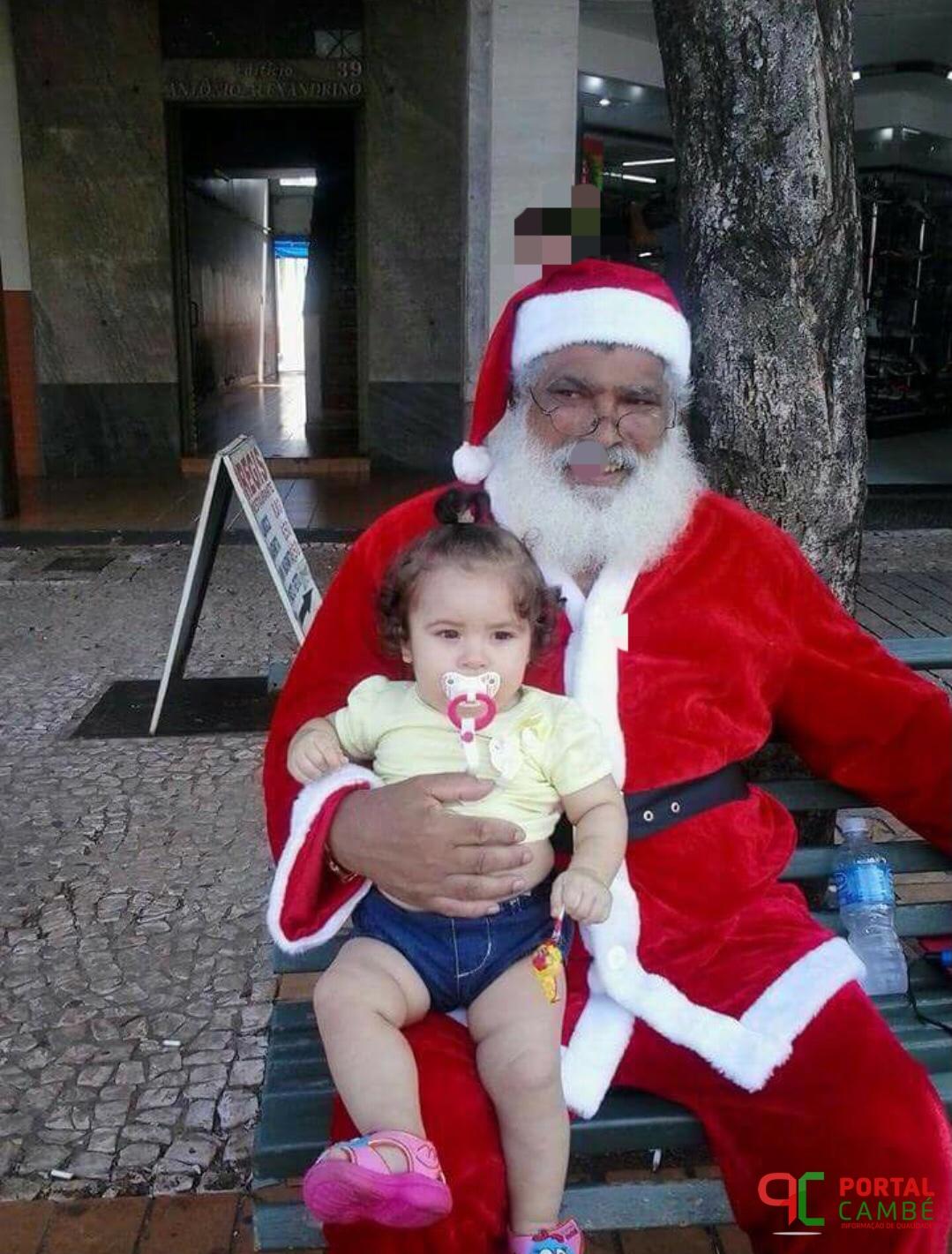 O Natal não será mais o mesmo sem o mais famoso Papai Noel de Cambé