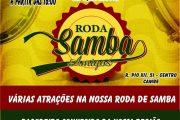 """Harmonia Tênis Clube de Cambé apresenta: """"Roda de Samba Amigos"""""""