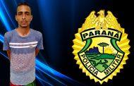 Procurado da Justiça por roubo é preso no Jardim Tarobá em Cambé
