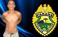 Suspeito de roubo a pessoa é preso no Jardim Tupi em Cambé