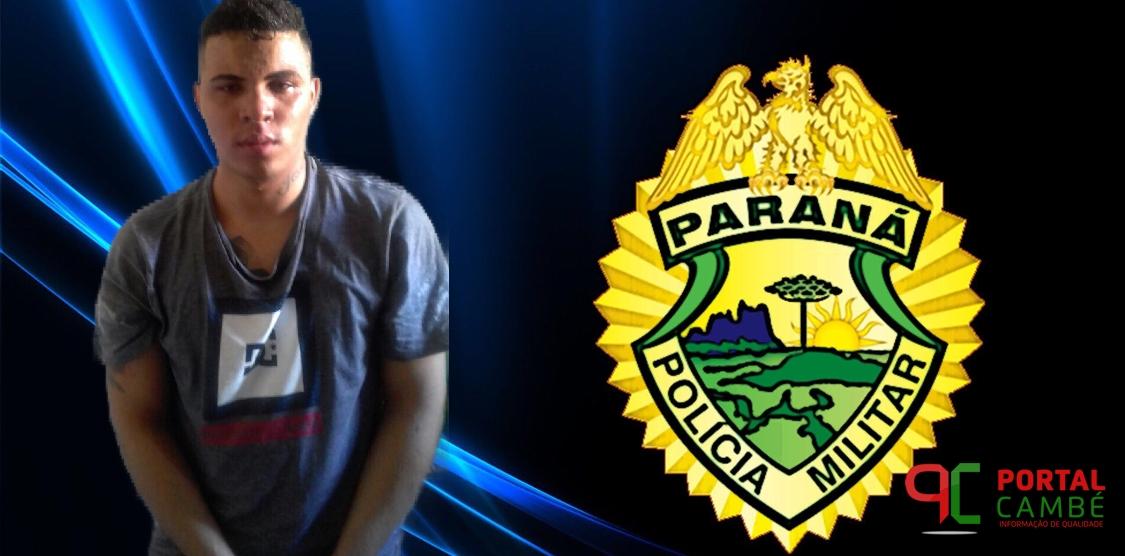 Foragido da cadeia de Cambé é preso em Arapongas