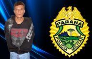Rapaz é preso com mandado de prisão por desacato no Jardim Ana Rosa em Cambé
