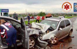 Acidente grave deixa quatro pessoas feridas na BR-369 em Cambé