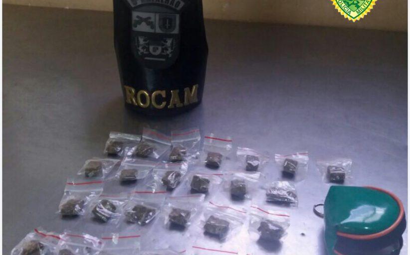 Menor infrator é apreendido suspeito de equiparação ao tráfico de drogas no Jardim Ana Rosa em Cambé