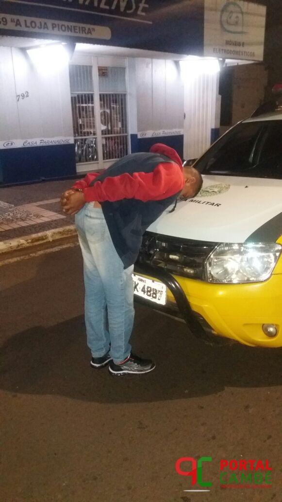 Após troca de tiros com a Polícia Militar ladrão morre na BR 369 em Cambé
