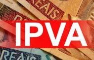 Pagamento da segunda parcela do IPVA começa nesta segunda