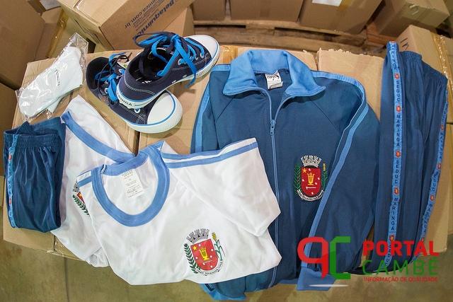 Prefeitura de Maringá apresenta novos uniformes e kits escolares nesta sexta