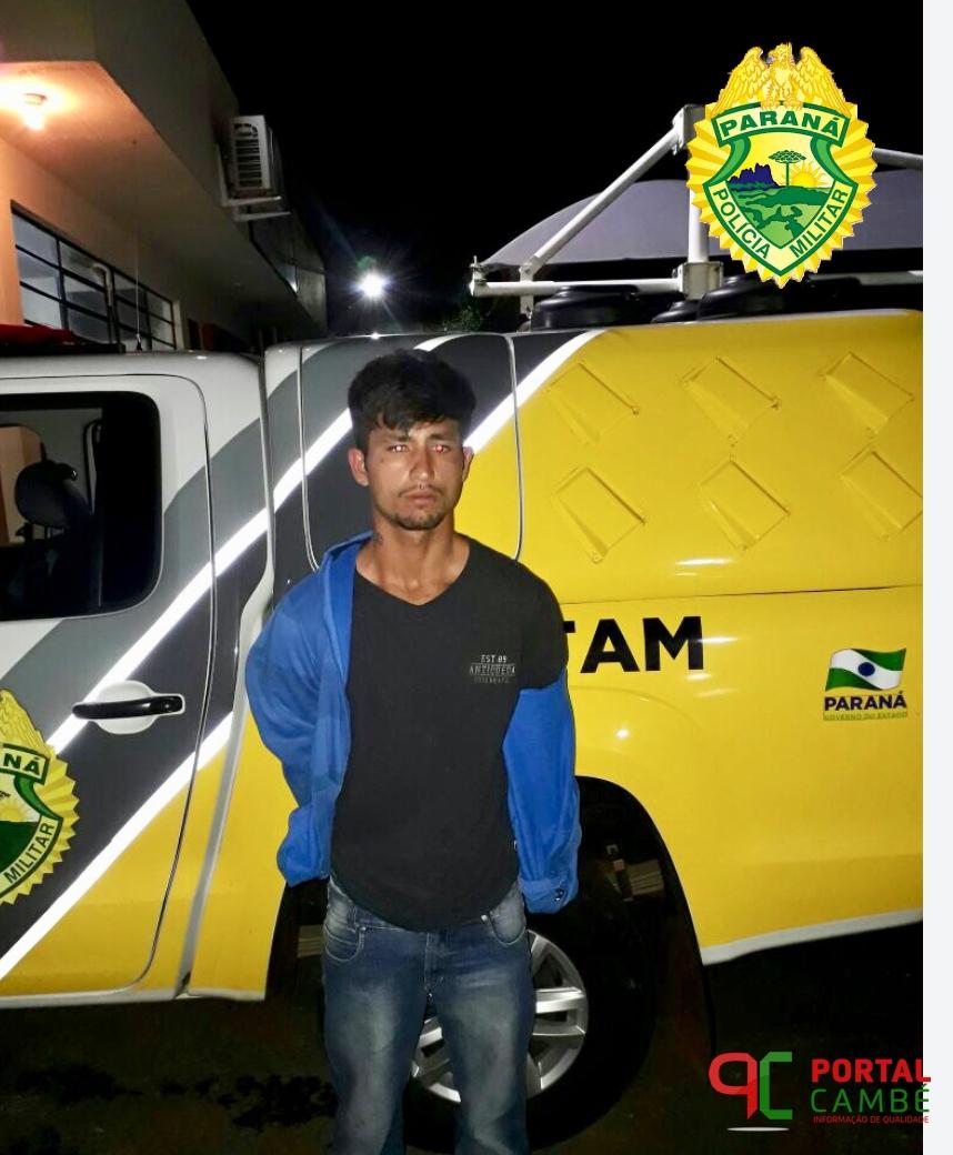 Justiça decreta prisão definitiva a rapaz no Jardim Ana Rosa em Cambé